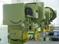Safety solution for punching press machines